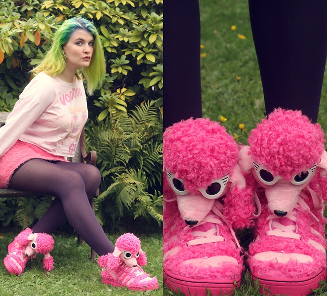 Alison Pink Poodle